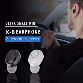 TWS X18s Wireless Headset - Bluetooth Stereo Sound Earphones Sweatproof Headphones Build-in Mic Earbuds White N/A
