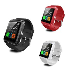 U8 Fashion Bluetooth Smart Watch for Samsung HTC LG Xiaomi Android Phone Smartphones Red CHINA