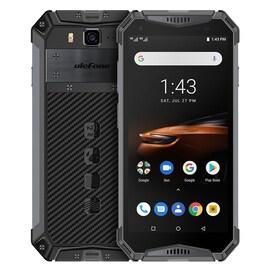 Ulefone Armor 3W Rugged Phone Dual 4G 6GB+64GB (Black)