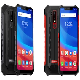 Ulefone Armor 6 4G Phablet - 6.2 Inch, Android 8.1 OS, Helio P60 (MT6771) Octa-core, 6GB RAM 128GB ROM Red