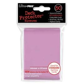 Ultra-Pro Koszulki Deck Protector Standard 66x91 - Różowe (50szt)