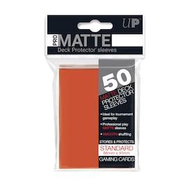 Ultra-Pro Koszulki Pro-Matte Standard 66x91 - Brzoskwiniowy (50szt)