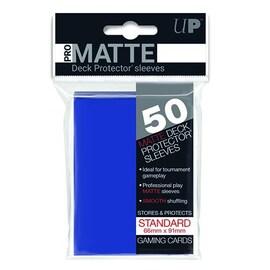 Ultra-Pro Koszulki Pro-Matte Standard 66x91 - Niebieskie (50szt)