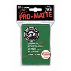 Ultra-Pro Koszulki Pro-Matte Standard 66x91 - Zielone (50szt)