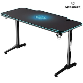 ULTRADESK FRAG BLUE - gaming desk 140x66 cm Gaming