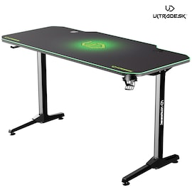 ULTRADESK FRAG GREEN - gaming desk 140x66 cm Gaming