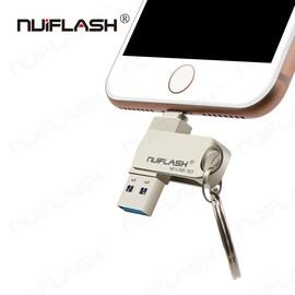 USB Flash Drive For iPhone/ipad 2 IN 1 Pen Drive Memory Stick 64GB
