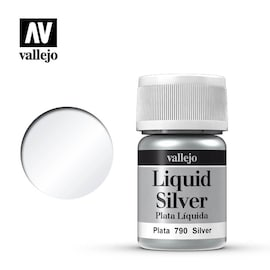 Vallejo Liquid Gold 70.790 Silver (Alcohol Based) 35ml (211)