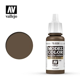 Vallejo Model Color 70.826 German Camouflage Medium Brown (145)