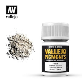 Vallejo Pigments 73.101 Titanium White