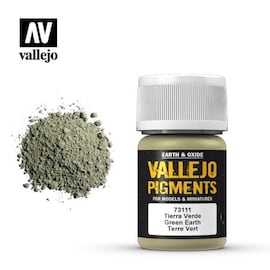 Vallejo Pigments 73.111 Green Earth
