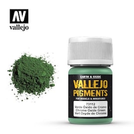 Vallejo Pigments 73.112 Chrome Ox Green