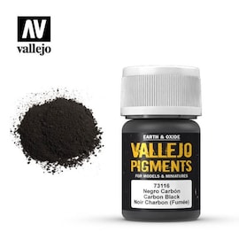 Vallejo Pigments 73.116 Carbon Black