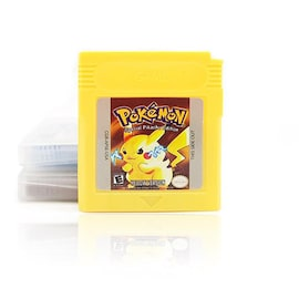 Video Game for 16 Bit Cartridge Pokemon Game Console Card Series Yellow Version for GBC GBA SP