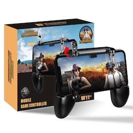 W11 PUBG Mobile Gamepad Shooter Controller - Trigger Game Joystick Metal L1 R1 for iPhone Android