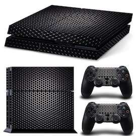 Wallpaper Skin Body Sticker For Customise And Protect Your PlayStation Gaming Console. Black