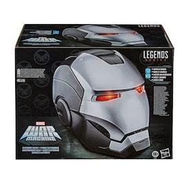 War Machine Electronic Helmet - Marvel Legends Gear - Hasbro Gray