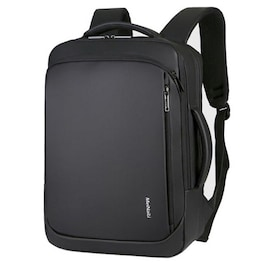 Waterproof BackpackLaptop for Business and Travel with USB Charging Black