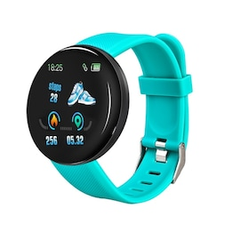 Waterproof D18 Sport smart watch for Android and IOS- Blue