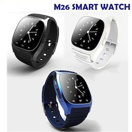 Waterproof M26 Bluetooth Touch Screen Smart Watch  White