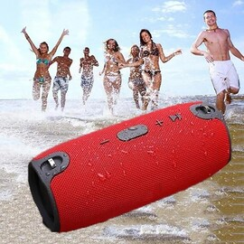 Waterproof Portable Outdoor Column Wireless Bluetooth Speaker Box Sound Bar USB Subwoofer Sound Box MP3