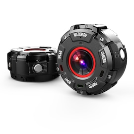 Wearable and Detachable Smart Sports Camera - 1080P, APP, Wifi, Magnetic Base, Waterproof, Hunting Camera
