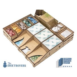Wingspan (Base Game Or With European exp) + optional dice tower Organizer Insert
