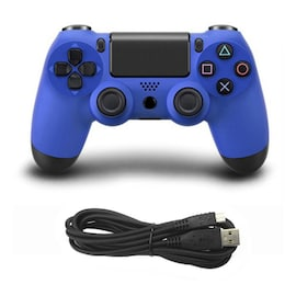 Wired Game Controller for Sony PS4 Blue