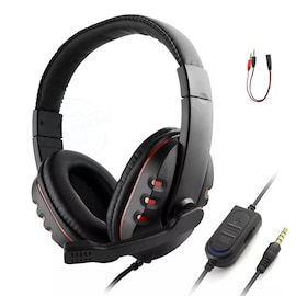 Wired gaming Headphones Red