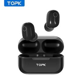 Wireless Bluetooth Headphones V5.0 Touch Control Black