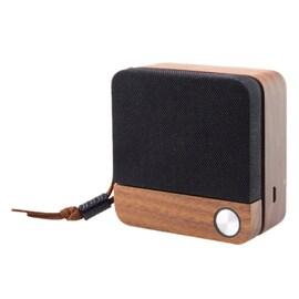 Wireless Bluetooth Speaker Eco Speak Ksix 400 Mah 3.5W Wood