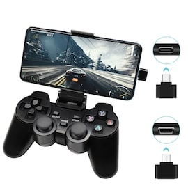 Wireless Controller 2.4G USB For PS3, Android Phone, PC, PS3, TV Box Black