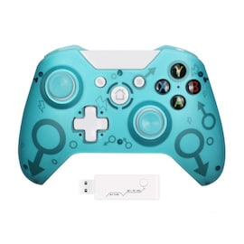 Wireless Controller For Xbox One PC and Android Smartphones Gamepad Blue