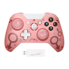 Wireless Controller For Xbox One PC and Android Smartphones Gamepad Pink