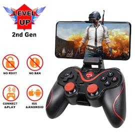 Wireless Game Controller Gamepad Black