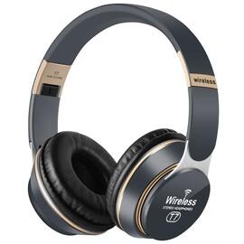 Wireless Headphones 3D Stereo Bluetooth Gray
