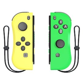 Wireless Joysticks for Nintendo Switch (L and R) Yellow Green