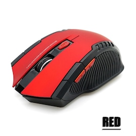 Wireless Mice With USB Receive Red