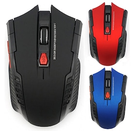 Wireless Optical Mouse Gamer for PC Gaming  Wireless Mice with USB  Blue