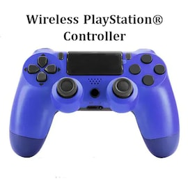 Wireless PS4 Controller for PlayStation Pro Slim and Standard - Blue