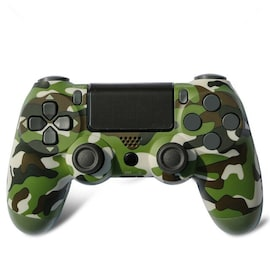 Wireless PS4 Controller for PlayStation Pro Slim and Standard - Green Camo
