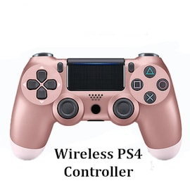 Wireless PS4 Controller for PlayStation Pro Slim and Standard - Pink