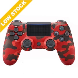 Wireless PS4 Controller for PlayStation Pro Slim and Standard - Red Wine