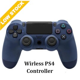 Wirelesse PS4 Controller for PS4 Pro Slim and Standard - Dark Blue
