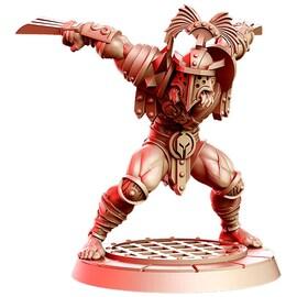 Wolverios Gladiator – Figurka RPG