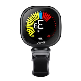 WST-670 Clip-On Tuner VA Color Display Rechargeable Tuner Musical Instrument for Guitar Violin Ukulele black