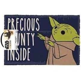 Wycieraczka pod drzwi Gwiezdne Wojny Mandalorian (Precious Bounty Inside) (60x40 cm)