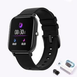Xiaomi P8 Smart Watch Bracelet for Women and Men Black