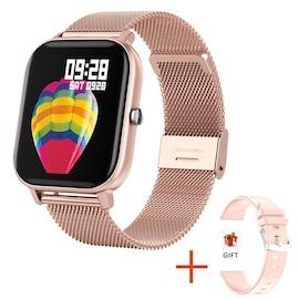 Xiaomi P8 Smart Watch Bracelet for Women and Men Rose Gold