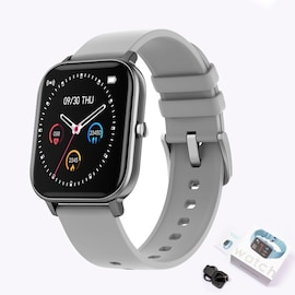 Xiaomi P8 Smart Watch Bracelet for Women and Men Silver